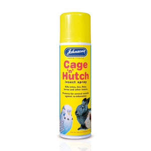 Johnson's Cage 'n' Hutch Insect Spray 250ml