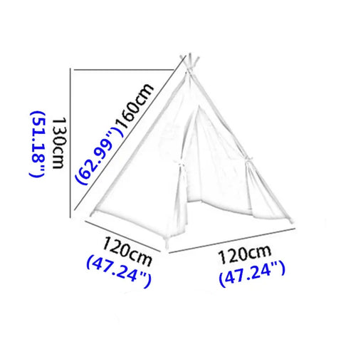 Kids Teepee dimensions