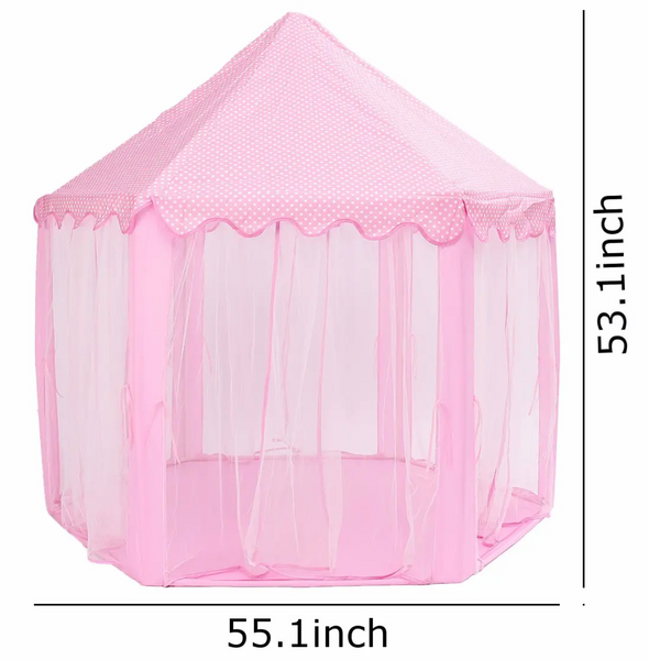 Princess tent dimensions