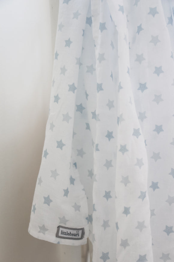 MUSLINFILT Little Star Blue