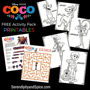 Disney's Coco Coloring Pack