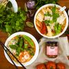 Thai Red Curry Laksa Noodle Soup