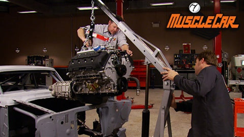 "MuscleCar DVD (2011) Episode 06 - ""Altered E-Go Pedals, Gauges and Engine Install"""
