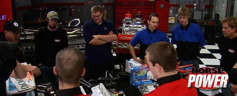 "HorsePower DVD (2009) Episode 05 - ""Scholastic Engine Builder's Challenge"""
