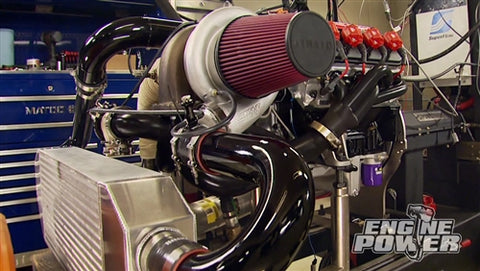 Engine Power DVD (2014) Episode 19 - Iron Animal 408: Wicked Turbo Power