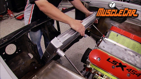 MuscleCar DVD (2013) Episode 18 - Olds Radiator Mount and Exhaust