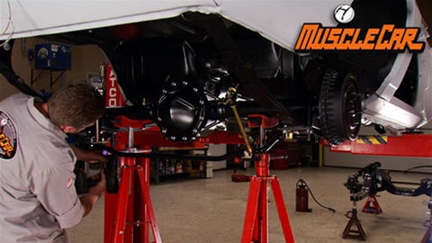 "MuscleCar DVD (2011) Episode 07 - ""Project Limelight Suspension, Brakes and Rear End"""