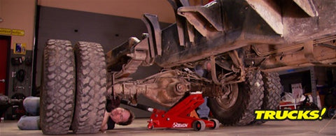 "Trucks! DVD (2009) Episode 10 - ""Super Dually Part 2: Body Swap & Frame Repair"""