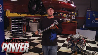 "HorsePower DVD (2008) Episode 23 - ""Turbo Stang Motor Install and Bloopers"""