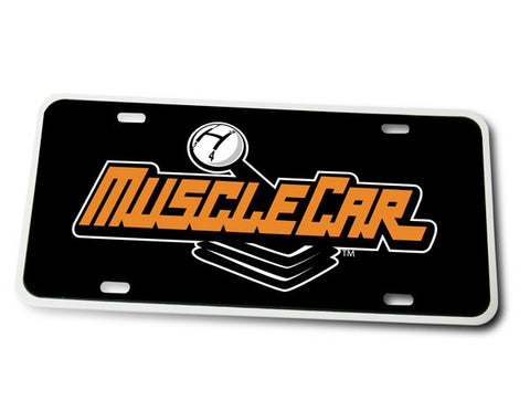 MuscleCar License Plate