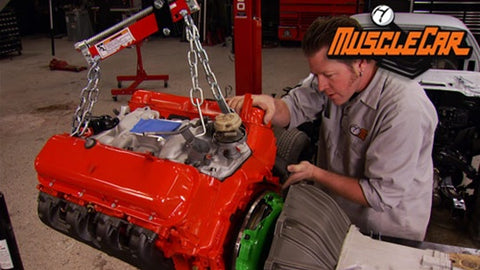 "MuscleCar DVD (2011) Episode 08 - ""Project Limelight Engine and Transmission"""