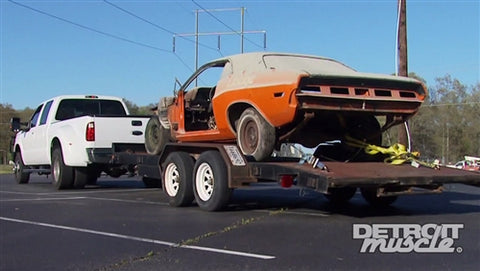 Detroit Muscle DVD (2014) Episode 20 - Project Ultra Violet: '70 Challenger
