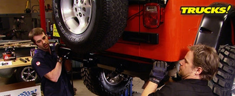 "Trucks! DVD (2011) Episode 12 - ""Jeep Wrangler Off-Road Upgrades! Part 2"""