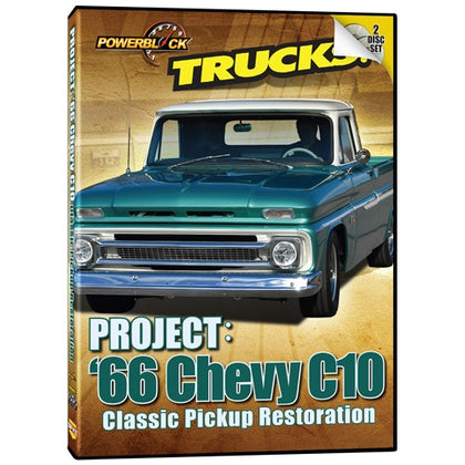 Trucks! Project: '66 Chevy C10 (2-Disc Set)