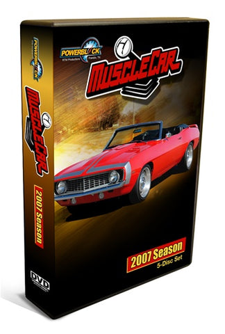 MuscleCar DVD (2007) Complete Season 5-Disc Set