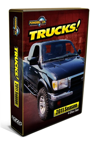 Trucks! (2011) Complete Season 4-Disc Set