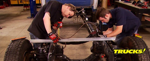 "Trucks! DVD (2009) Episode 12 - ""Super Dually Part 3: Frame Modification and Body Fitment"""