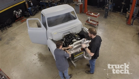 Truck Tech DVD (2016) Episode 10 - Project Basket Case Intercooler Fab & Frame Paint