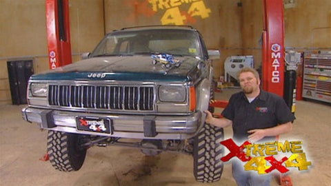 "Xtreme 4x4 DVD (2007) Episode 08 - ""CORR Pro II Trophy Truck Part 1 - Track Tech, Chula Vista, CA"""