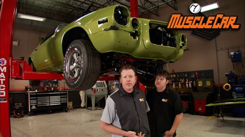 "MuscleCar DVD (2011) Episode 11 - ""Project Limelight Engine Accessories & Hood Paint"