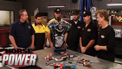 "HorsePower DVD (2008) Episode 05 - ""Hot Rod Bike Buildup"""