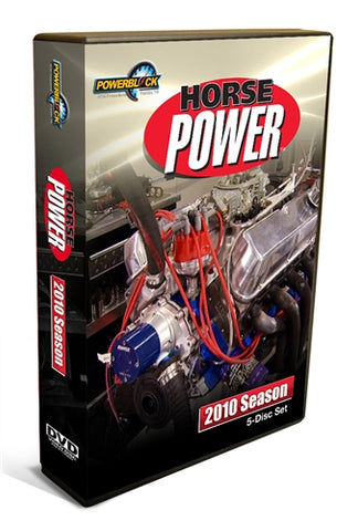 HorsePower DVD (2010) Complete Season 5-Disc Set