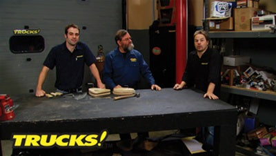 "Trucks! DVD (2008) Episode 23 - ""HRT & Ron Covell Metal Shaping Lesson"""