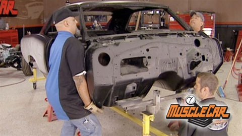 "MuscleCar DVD (2007) Episode 16 - ""Pontiac Le Mans Complete Body Work"""