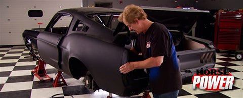 "HorsePower DVD (2009) Episode 16 - ""Mustang Track Car Body and Chassis"""