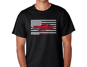 Stars & Stripes PowerNation Cadillac T-Shirt