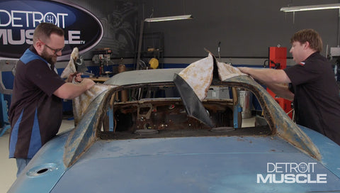 Detroit Muscle DVD (2018) Episode 05 - Hard Charger Metalwork and Sign Painting