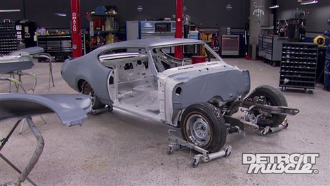 Detroit Muscle DVD (2014) Episode 18 - Hurst Olds: Panel Gap Perfection