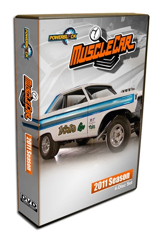 MuscleCar DVD (2011) Complete Season 4-Disc Set