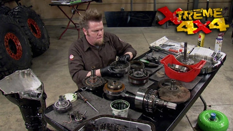 Xtreme 4x4 DVD (2013) Episode 07 - 2-Car Garage Crawler Part 4 / Driveway Rescue Project 2