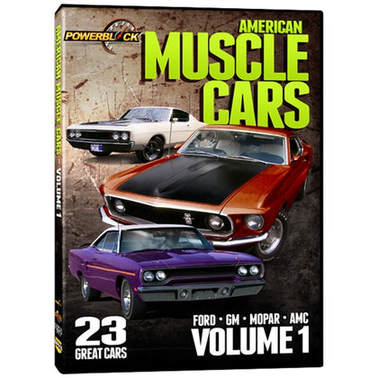 American Muscle Cars - Volume 1 (DVD)