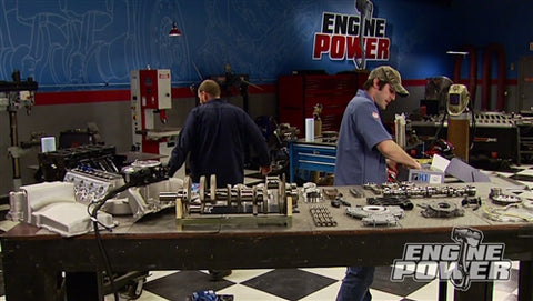 "Engine Power DVD (2014) Episode 9 - ""Iron Animal"" Part 1: Building a 408 Stroker"
