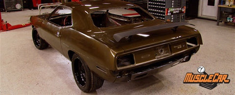 "MuscleCar DVD (2009) Episode 09 - ""Project Street Fighter Body Panels"""