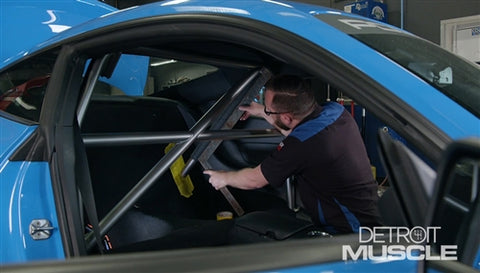 Detroit Muscle DVD (2017) Episode 15 - Powerstop Ultimate Mustang Roll Cage and Interior