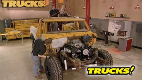 "Trucks! DVD (2007) Episode 05 - ""Low Buck Bronco Gets Big Power"""