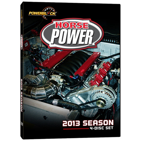 HorsePower DVD (2013) Complete Season 4-Disc Set