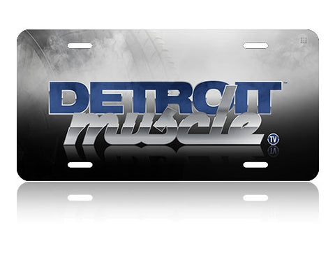Detroit Muscle License Plate