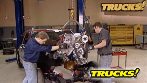 "Trucks! DVD (2007) Episode 08 - ""Two Blowers Per Show"""