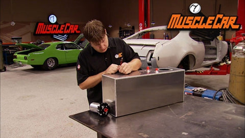 MuscleCar DVD (2013) Episode 03 - Olds Tank Mods & Glass Etching