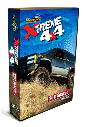 Xtreme 4x4 (2011) Complete Season 4-Disc Set