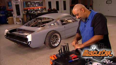 "MuscleCar DVD (2007) Episode 21 - ""Mustang Road Racer - Fiber Glass"""