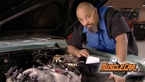 "MuscleCar DVD (2007) Episode 01 - ""Project Old Blue Hair 'Sleeper' Wakes Up"""