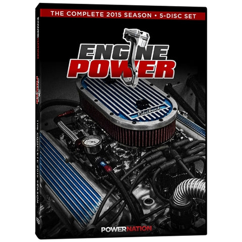 Engine Power (2015) Complete Season 5-Disc Set