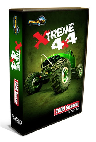Xtreme 4x4 DVD (2009) Complete Season 5-Disc Set