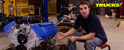 "Trucks! DVD (2010) Episode 16 - ""Rolling Thunder Part 8: Drivetrain Install & Chassis Improvements"""