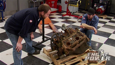 Engine Power DVD (2014) Episode 8 - Old Skool Flatty: Part 1 How to Hot Rod a Ford Flathead
